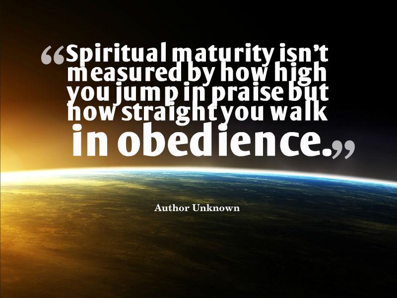 Spiritual Maturity Quotes. QuotesGram