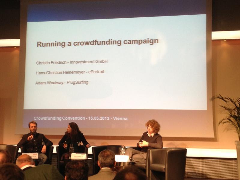 ePortrait bei der Crowdfunding Convention