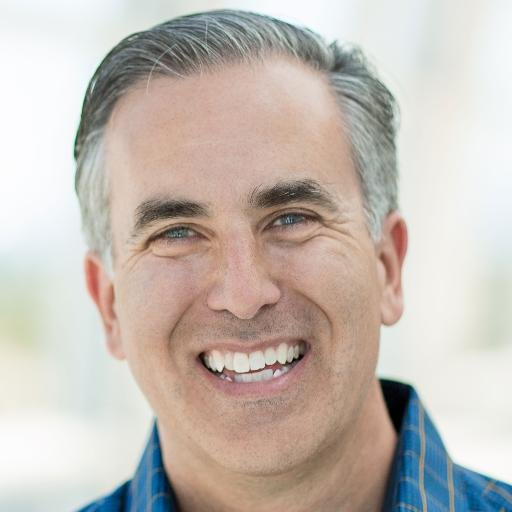 A photo of Michael Stelzner smiling