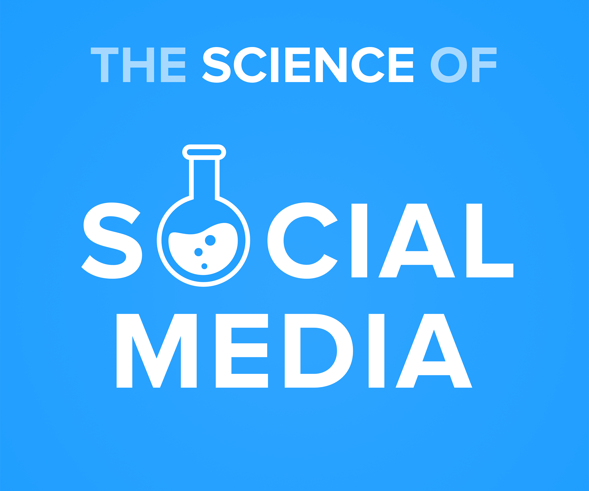 A photo of the Buffer Podcast, The Science of Social Media, logo